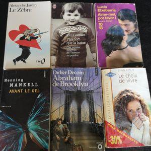 Lot de livres,
