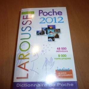 Dictionnaire de poche