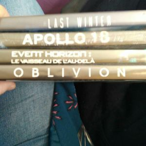 Lot quatre dvd
