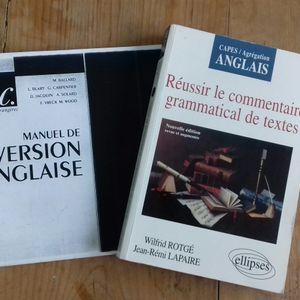 Préparation CAPES/AGREG anglais