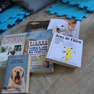 Lot livre thème éducation chien