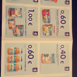 Réductions produits Nestlé