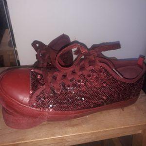 Chaussures (rouge Bordeau)