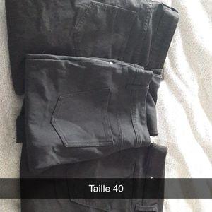 3 pantalons