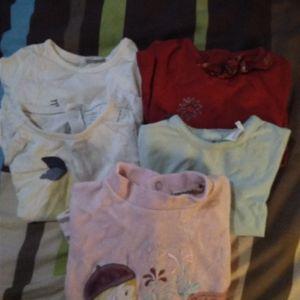 lot t-shirt bébé