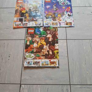 3 magazines lego