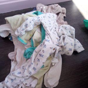 Body's et pyjamas tachés suite diversification