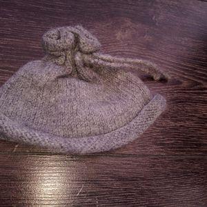 Bonnet tricoté naissance