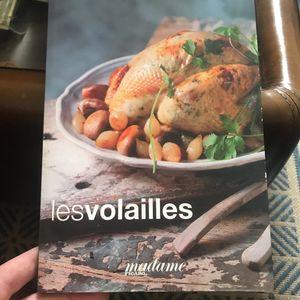 Livre de cuisine volailles Figaro