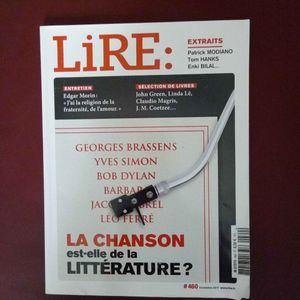 """Magazine """"Lire"""" de novembre 2017"""