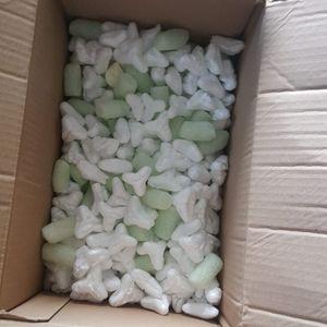 Beaucoup de boules en polystyrène