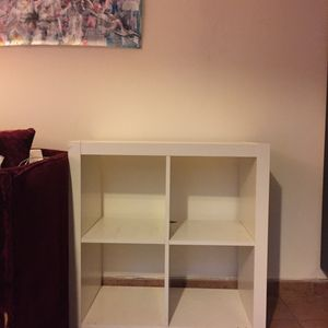 Étagère IKEA blanche en bois