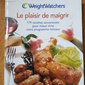 Livre de cuisine weightwatchers