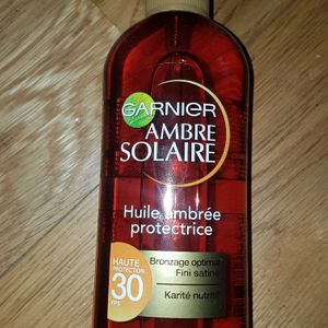 Ambre solaire neuf