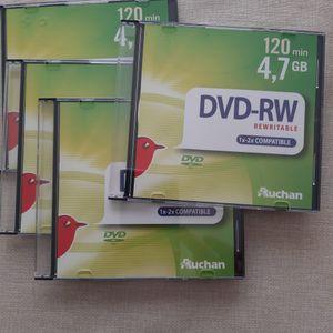 4 DVD vierge