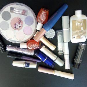 Lot de maquillage