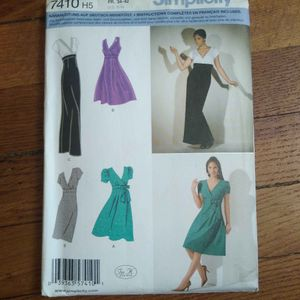 Patronnages robes Simplicity 7410