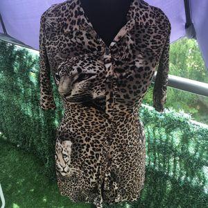 Haut imprimé Leopard
