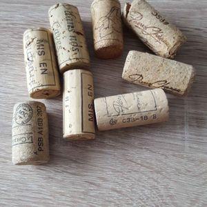Bouchon de vin.