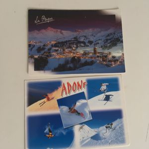 6 cartes postales