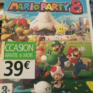 Jeu Mario party 8 wii