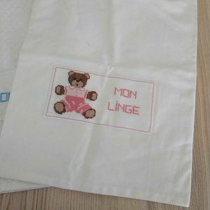 Lot de 2 sacs à linge pour enfants