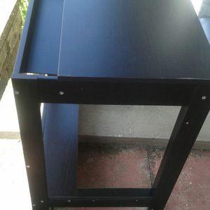 Petit bureau Ikea noir