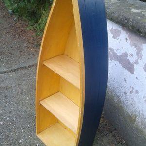 Etagère bateau pour enfant