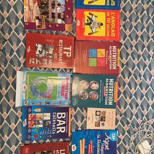 Livres apprentissage cuisine et restauration
