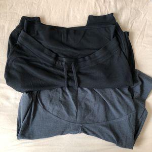 Lot 2 pantalons de grossesse taille L