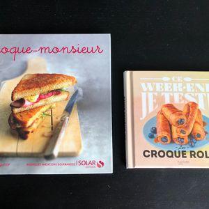 Livres cuisine Croque Monsieurs