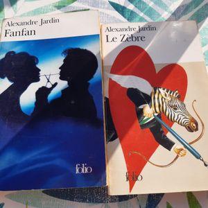 2 livres d'Alexandre Jardin