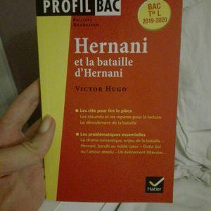 Livre explication Hernani Victor Hugo