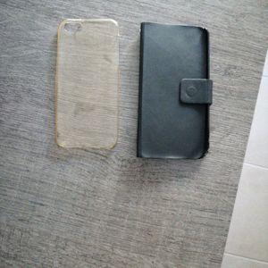 Donne 2 coques iPhone 5 c ou SE