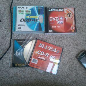 6 CD-ROM DVD vierges