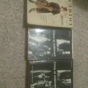 Dostoievski: collection de livres poches