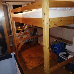 Mezzanine pour matelas 140 cm (sans matelas)