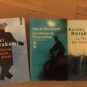 Livres Murakami