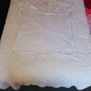 Haut blanc de camaieu taille 2