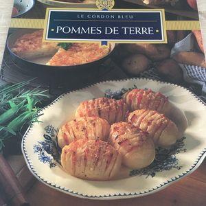 Livre de recettes sur les pommes de terre