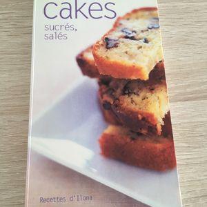 Livre de recettes sur les cakes
