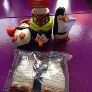 Jouets Mc Do les pingouins