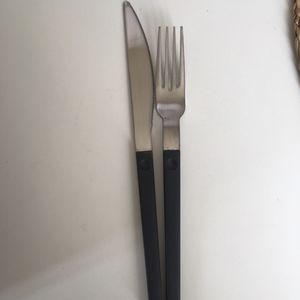 Couverts couteau+fourchette