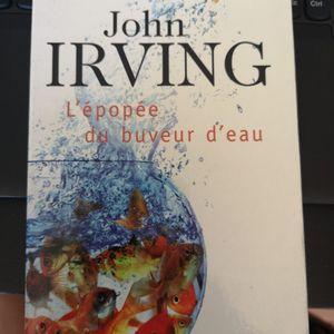 L'épopée du buveur d'eau. John Irving