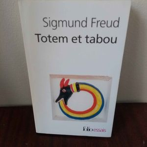 Totem et Tabou de Freud