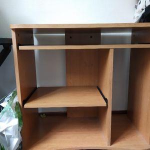 Bureau comme neuf avec deux tiroirs coulissants