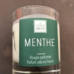Bougie parfumée menthe