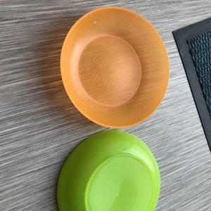 Assiettes bébé  en plastique