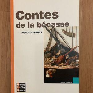 Contes de la Bécasse de Maupassant