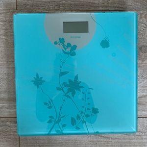 Pèse personne Teraillon bleu/vert